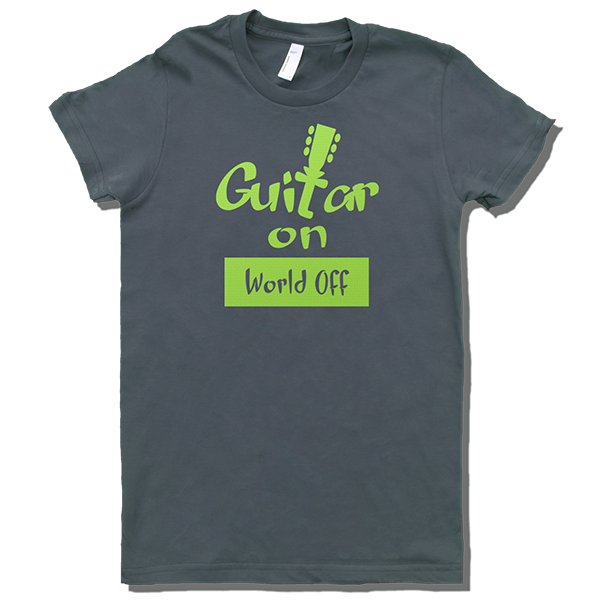 Guitar ON, World off