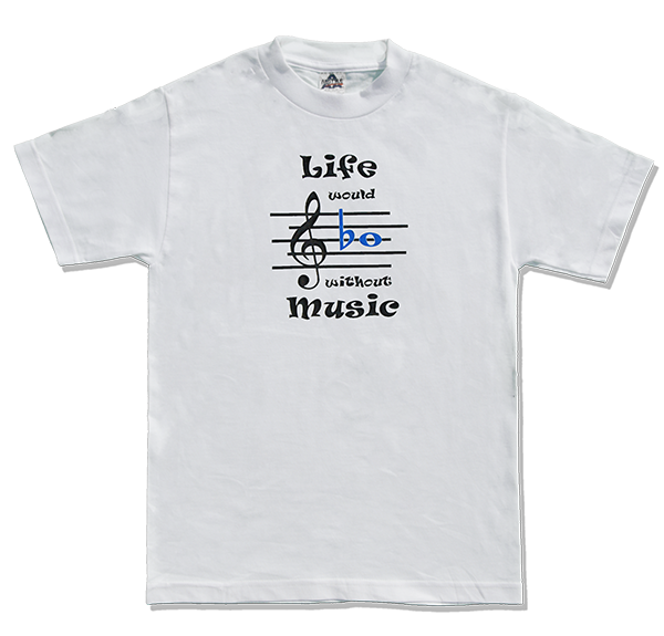 T Shirts for Musicians: Life Would Bb withou Music
