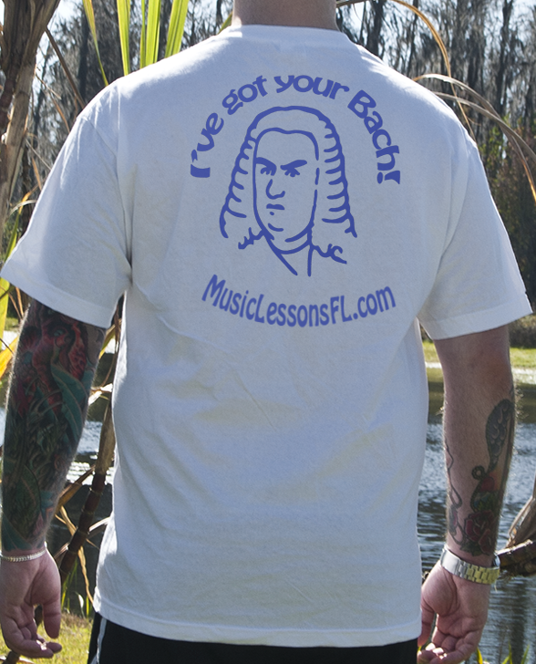 T Shirts for Musicians: I've Got Your Bach!