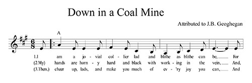 Down In A Coal Mine