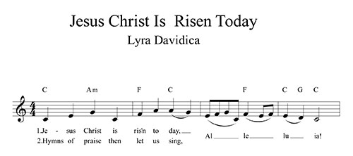 Lyra Davidica (Chirst Is Risen Today)