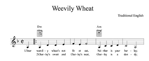 Weevily Wheat