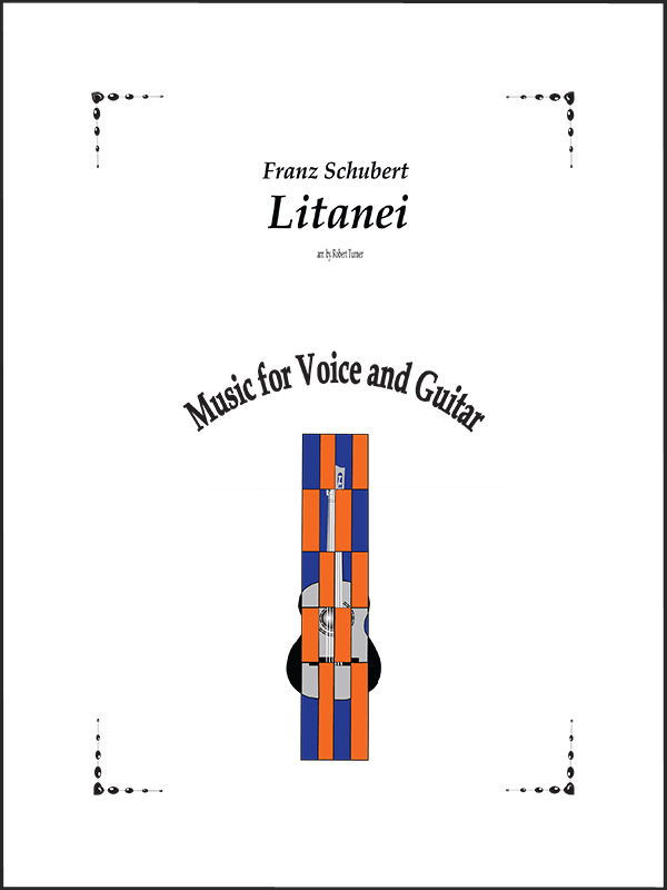 Litanei for Voice and Guitar