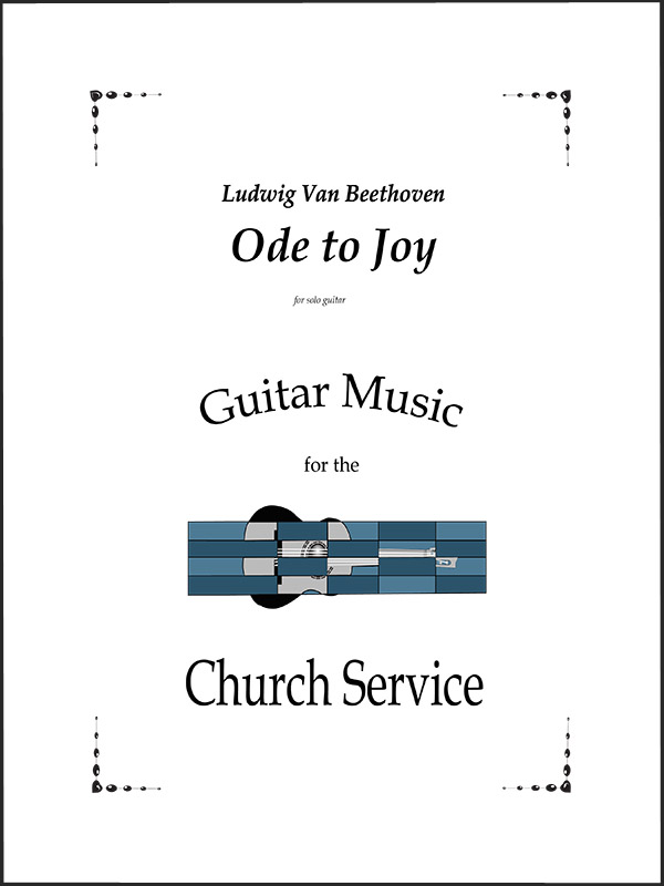 Ode to Joy for Guitar