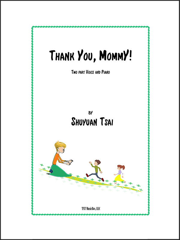 SATB Thank You Mommy by Shuyuan Tsai