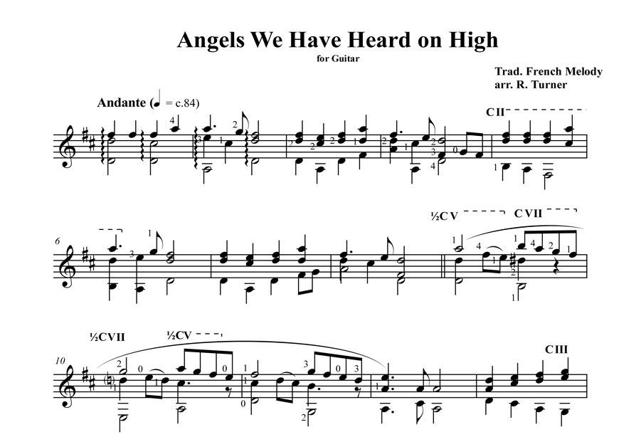 Angels We Have Heard Page 1