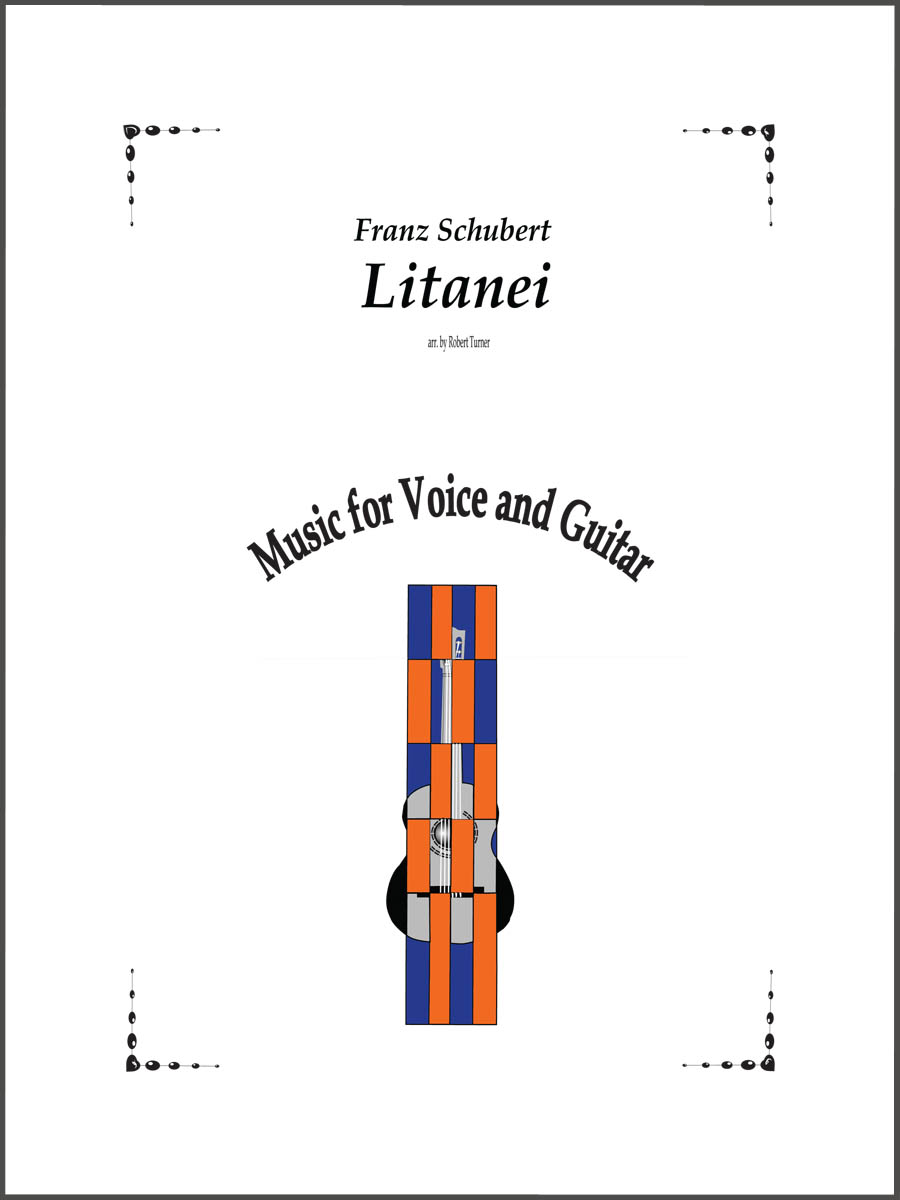 Litanei by Franz Shubert for guitar