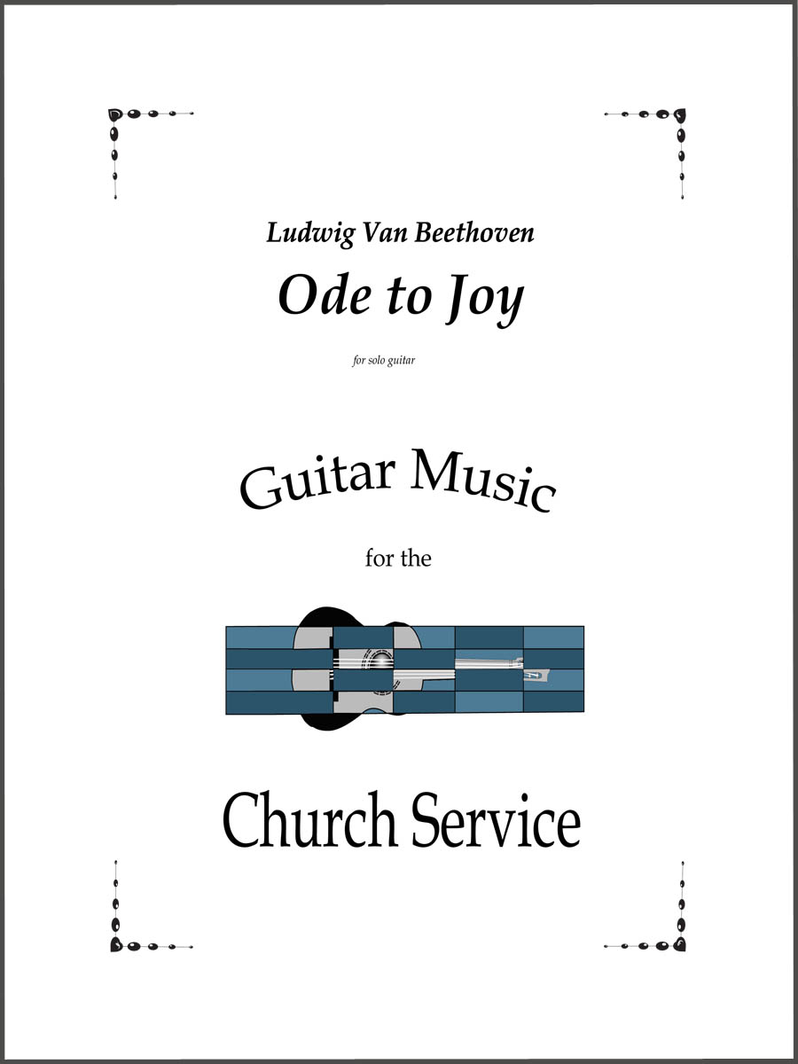 Ode to Joy by Beethoven for guitar