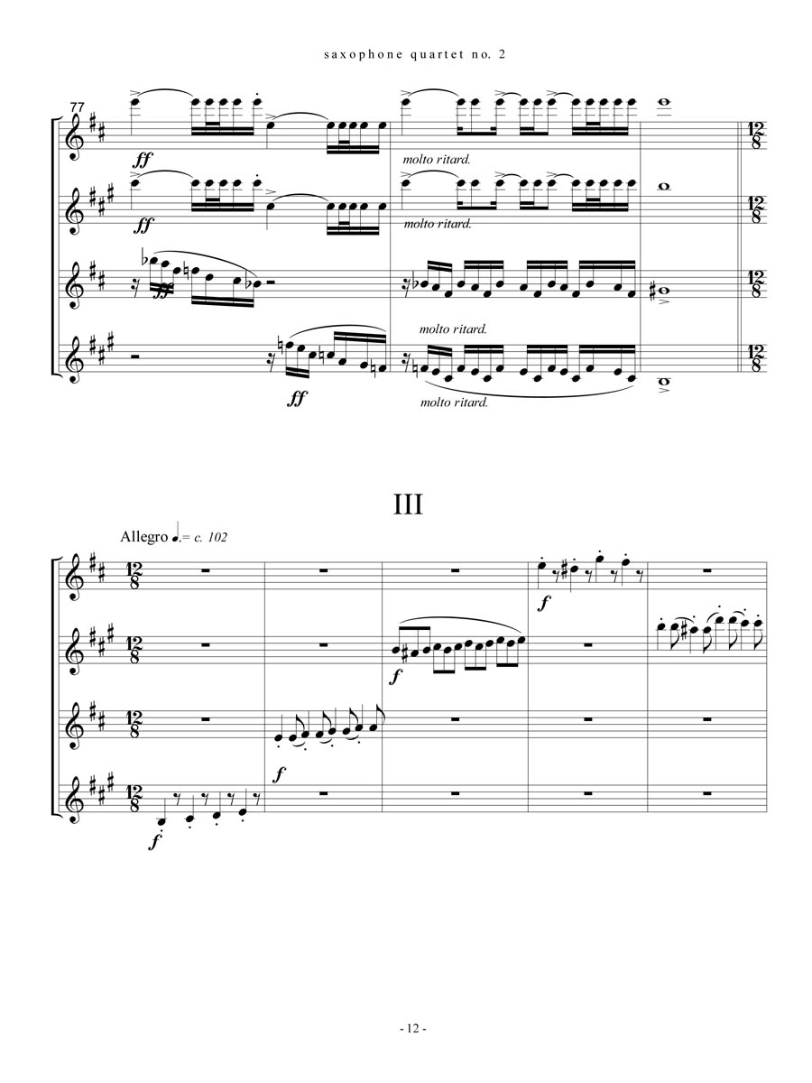 3rd movement