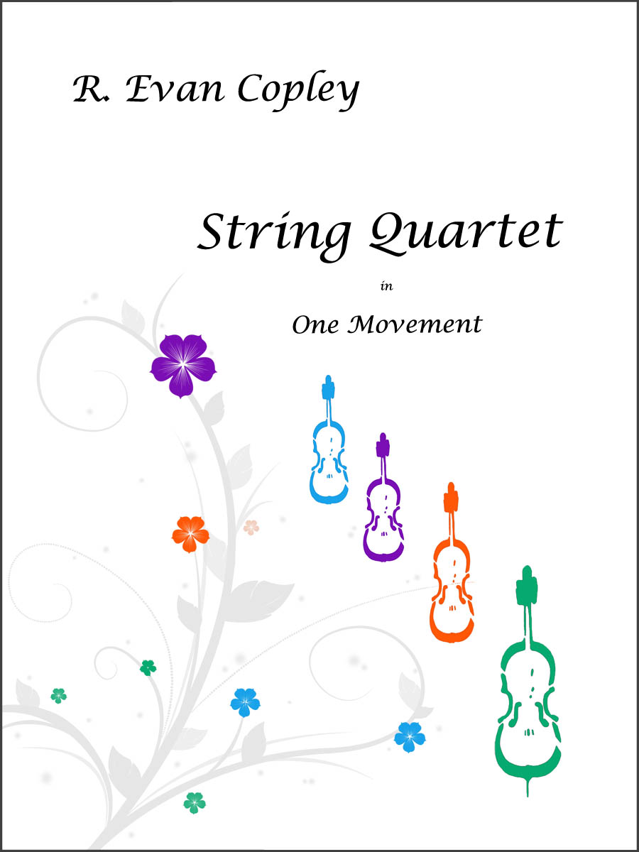 String Quartet - Cover Page