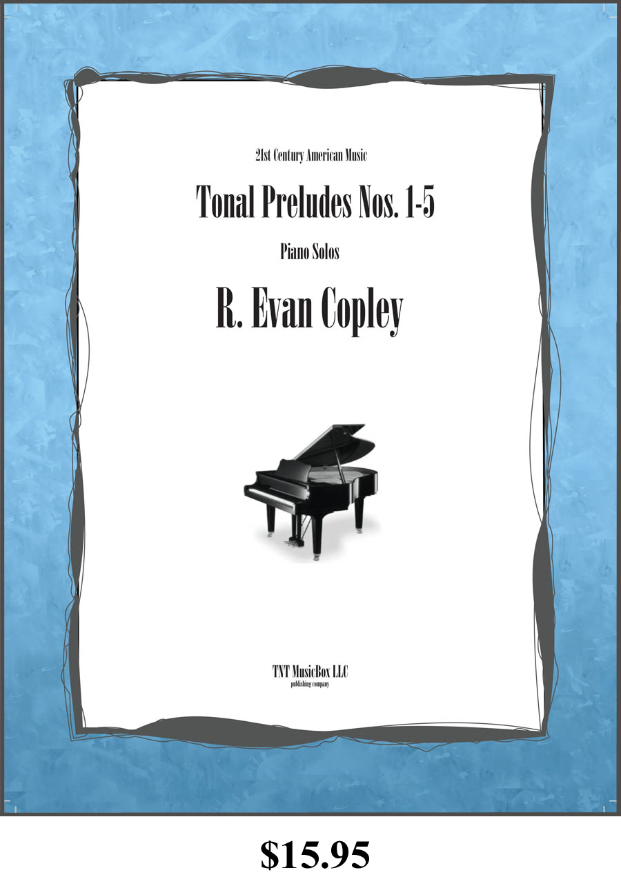 Tonal Preludes Nos. 1-5 front cover