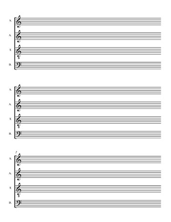 Many more blank music templates are available on the Freebies page
