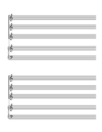Choir Blank sheet music template: SSA and Piano  page 2