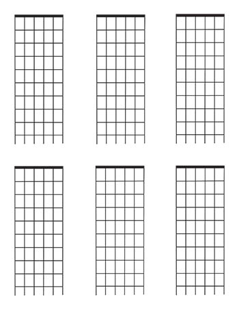 picture about Guitar Fretboard Diagram Printable named Guitar Fretboard diagrams 9 Frets