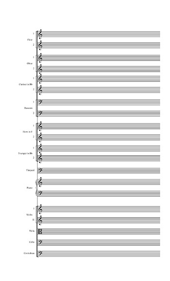 blank piano sheet music printable