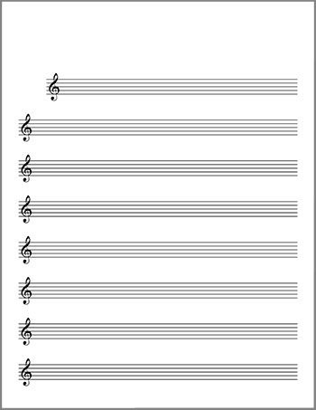 ... image above for single page pdf files of these blank sheet music files