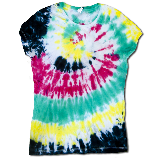 Tie Dye Ladies Large #3