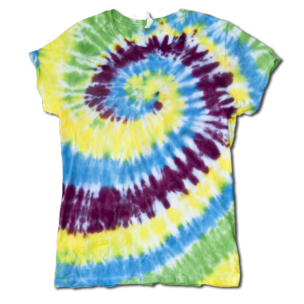 Ladies XL tie dye #1